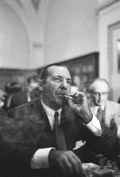 "The ""Prime Minister of the Underworld"", Frank Costello. He was one of the most powerful, intelligent, and influential mobsters of his time and one of the few who was allowed to ""retire"" in his later years."