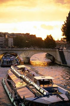 Taxi River Boat on the Seine, Paris