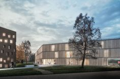 """New building for """"Collegio di Milano"""", new boarding house for students Milan, Italy 2016 / competition - selected"""