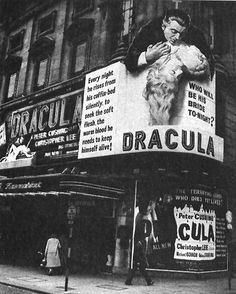 Dracula (original title) / Horror of Dracula (1958) starring Peter Cushing & Christopher Lee