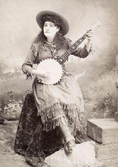 banjo pickin' girl