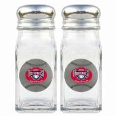 MLB Washington Nationals Salt & Pepper Shakers by Siskiyou. $17.40. Officially licensed MLB product^Set of 2 shakers^Glass shakers with metal screw tops^Diner style replicas^Cast & enameled team emblems. Stylish glass salt and pepper shaker set featuring a Washington Nationals dome with metal border. This is a great addition to any tailgating event, backyard BBQ or kitchen decor.