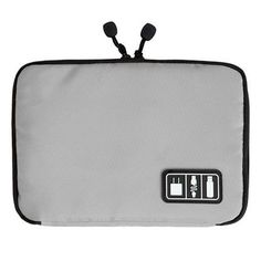 Electronic Accessories Organizers Bag for Hard Drive Organizers for Earphone Cables USB Flash Drives Travel Case Digital Bag