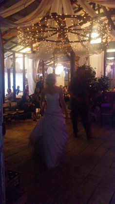 Our woolshed wedding reception
