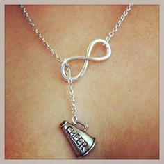 Cheerleading Forever Drop Necklace, Even though this was only for high school there's a possibility I'll do it in college.