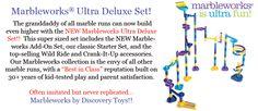 Marbleworks Ultra Deluxe Set