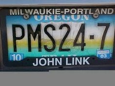 What are some funny license plates or bumper stickers that you have seen.^_^^_^^_^ C ME 2 P (A Urologist accually has that one) 2 Funny License Plates, Vanity License Plates, Licence Plates, Funny Car Quotes, Funny Signs, Funny Names, Random Quotes, Car Number Plates, Vanity Plate