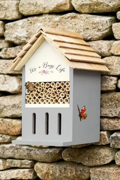 Bring some wildlife into your garden this summer with this wooden insect house from Next.