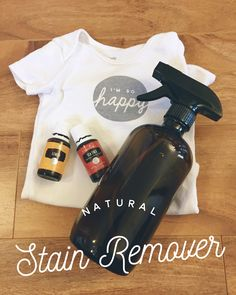 So in our quest to throw out toxins in our home, and replace them with natural and safe alternatives, one thing I've been holding out on is stain remover.