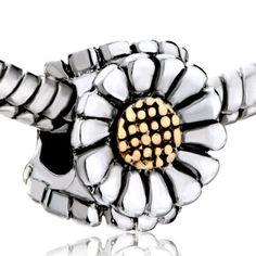 Sunflower Pandora Charm