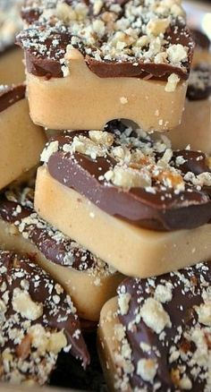 English Toffee Bites Recipe #toffee #dessert #comfortfood