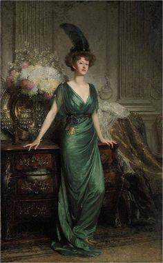 Portrait of the Hon. Mrs Ernest Guinness, 1912