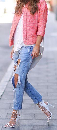 Jacket: By Malene Birger / Shirt: Zara / Jeans: Topshop / Shoes: NLY Shoes / Bag: Proenza Schouler