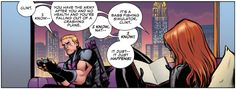 Hawkeye and his train wreck of a life