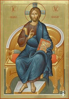 Christ Pantocrator. Religious Images, Religious Icons, Religious Art, Byzantine Icons, Byzantine Art, Christ Pantocrator, Religious Paintings, Best Icons, Early Christian