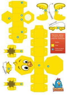 10 mais Pins para sua pasta Brinquedos de papel