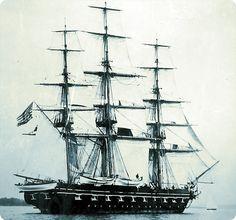 USS Saratoga, training ship