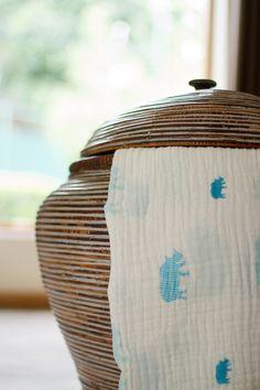 Resilient Rhino 100% Organic Muslin Blankets