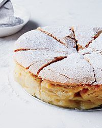 """On my """"to make"""" list this fall fo sho. """"Sharlotka is a light, fluffy Russian apple cake that's simple to make and perfect for dessert, brunch or an afternoon snack."""""""