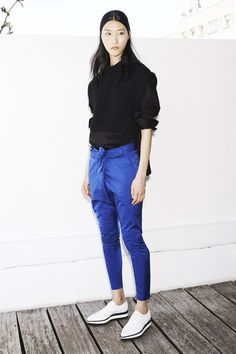 those pants + that button up + those kicks...barbara bui resort 2015