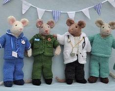 NHS Charity Knitting Pattern Bear Medic Doctor Nurse | Etsy Knitting Patterns Boys, Knitting Projects, Doctor White Coat, Knitting For Charity, Circular Knitting Needles, Photo Craft, Pattern Paper, Dressmaking, Crochet Hooks