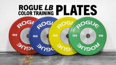 Rogue Full Color Competition Bumpers lbs: 25 green | 35 yellow |45 blue |55 red