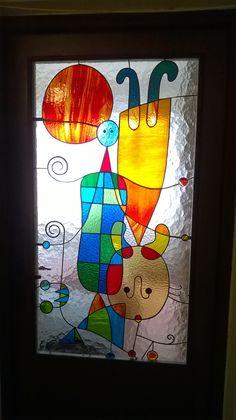 stained glass - door