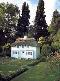 Queen Elizabeth's childhood playhouse, built in 1932 when she was only six years old. Princess Beatrice recently helped remodel the mini house, as a tribute to her grandmother's sixty years as Queen of England...