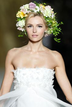 Pronovias 2014 Barcelona Bridal Week Photo by Pablo Latorre for Vogue