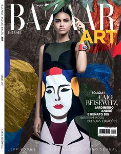 Nosso Duda Molinos assinou a beleza da capa daRevista Bazar Art deste mês. As fotos ficaram por conta do fotógrafo Eduardo Rezendo e a prod...