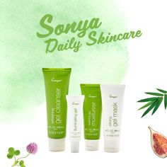 Sonya Daily Skincare has been created particularly for combination skin, which is prone to fluctuate between oily and dry. What's your skin type?