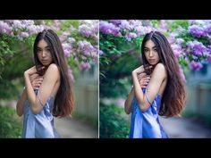 How I Edit Natural Light Portraits in Photoshop - YouTube