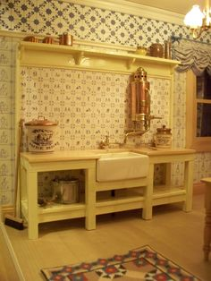 My dollshouse kitchen