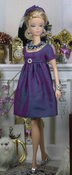 Look what Ruby uploaded from Google - Barbie in a shimmery purple dress