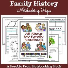 Freebie - Family History Notebook