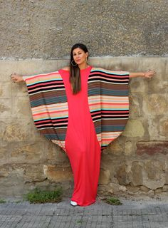 Colorful Maxi Dress, Abaya Dress, Plus Size Clothing, Party Dress, Summer Dress, Sizes S through 4X