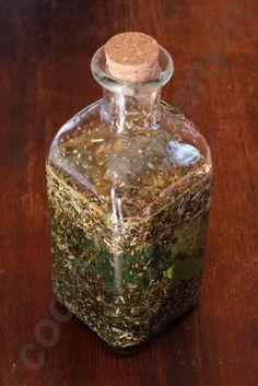 Licor de hierbas digestivas