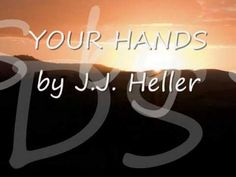 Your Hands by JJ Heller   One of my ALL TIME favorite songs!  I remember hearing this song for the first time when we were in the midst of a 7 year journey through infertility, wondering if God would grant our desire for a child.  A year later we were given the most precious gift, a son.  This song is such a vivid reminder when we cannot trace His hand we can ALWAYS trust His heart!