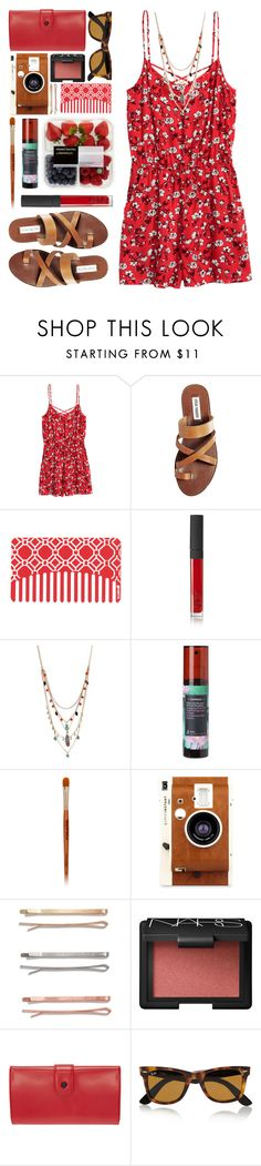 """#906 Gina"" by blueberrylexie on Polyvore featuring Steve Madden, NARS Cosmetics, Betsey Johnson, Korres, Mineral Fusion, LØMO, Madewell, Opening Ceremony and Ray-Ban"