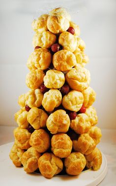 Croquembouche! My alternative to Christmas pudding.