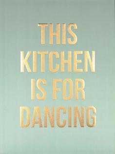 Dancing gold, plakater i gruppen Plakater / Kjøkkenplakater hos Desenio AB (8530)