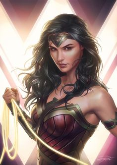 Wonder Woman is always been in my top list of doing some fun art, love the character with both strong yet beautiful elements. I'm so excited the movie!!!!