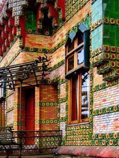 Spain, Cantabria, Suances, El Capricho de Gaudi