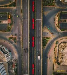 Aerial view of the Kalma Chock Lahore Punjab Pakistan Lahore Pakistan, Aerial View