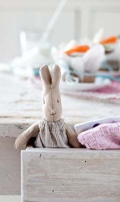 Maileg bunny, Minty House, Easter