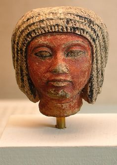 Head of a statue of the eighteenth dynasty Kemet Amenhotep Iii, Ancient Egyptian Artifacts, Ancient Art, Egyptian Mask, Egyptian Pharaohs, Egypt News, The Bible Movie, Arte Tribal, African History
