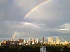 rainbow in Tokyo