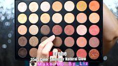 Morphe 35os Color Shimmer Natural Glow Palette Warm Copper Cranberry Shi...