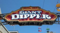 Giant Dipper 6 tickets