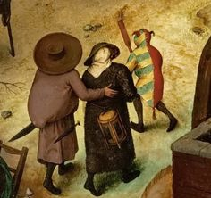 Pieter The Elder Brueghel: The fight between carnival and lent